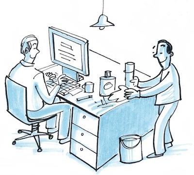 Reinigung für Geschäftsräume und Büros