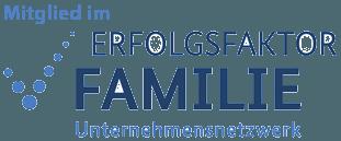 Mitglied im Unternehmensnetzwerk Erfolgsfaktor Familie