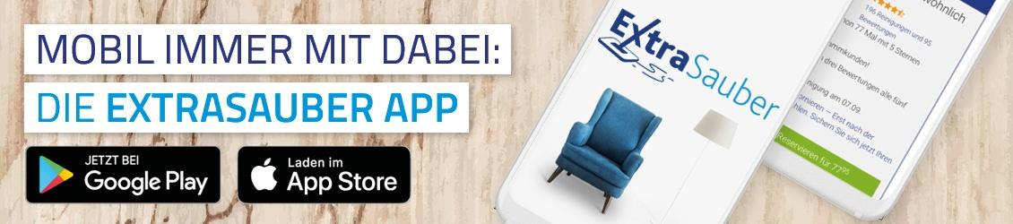 Informationen zur ExtraSauber-App und kostenloser Download