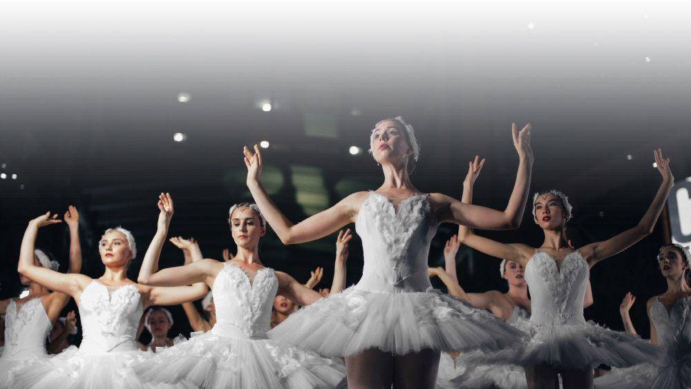 Putzfrau Zeit für Ballet
