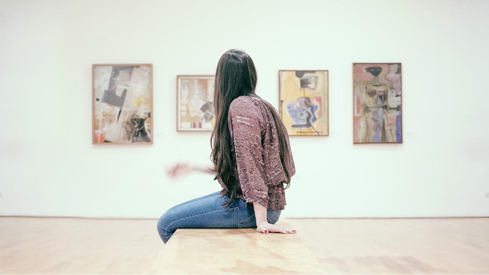 Putzfrau Zeit für Museen