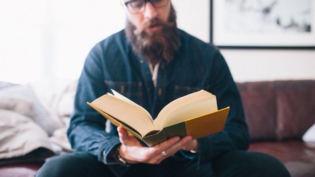 Putzfrau Zeit zum Lesen