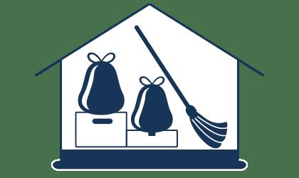 Reinigung von Messie-Wohnungen