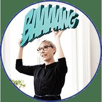 Martina Lechner, Inhaberin tinagrafik STUDIO