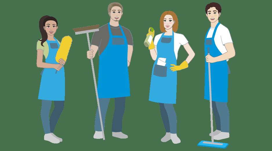 ExtraSauber für Unternehmer mit Angestellten